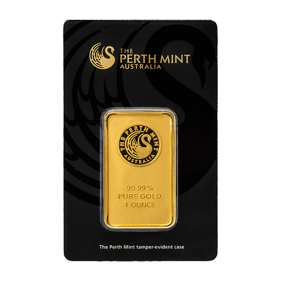 Picture of 1oz Perth Mint Gold Minted Bar