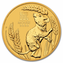Picture of 1oz Lunar 2020 - Year of the Mouse Gold Coin