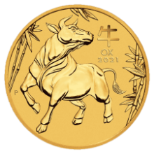 Picture of 1oz Lunar 2021 - Year of the Ox Gold Coin