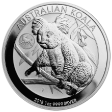 Picture of 1oz 2018 Koala Silver Coin - Privvy Lunar Dog