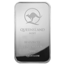 Picture of 10oz Queensland Mint Silver Minted Bar