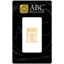 Picture of 5g ABC Gold Minted Bar