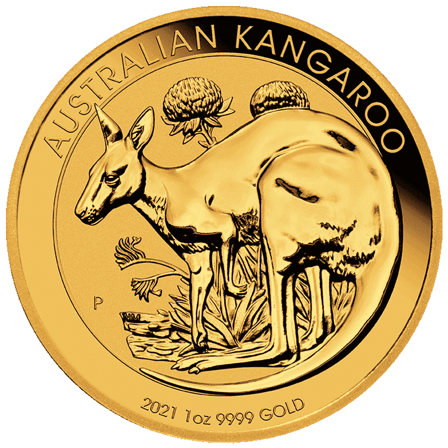 Picture of 1oz Kangaroo Gold Coin (2021)