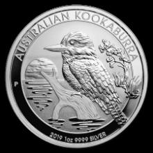 Picture of 1oz Kookaburra Silver Coin (2019)